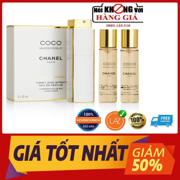 Bộ 3 COMBO NƯỚC HOA COCO CHANEL 20ML