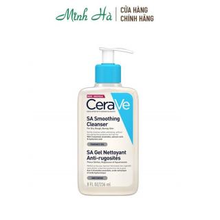 Sữa rửa mặt Cerave SA Smoothing Cleanser 236ml thumbnail