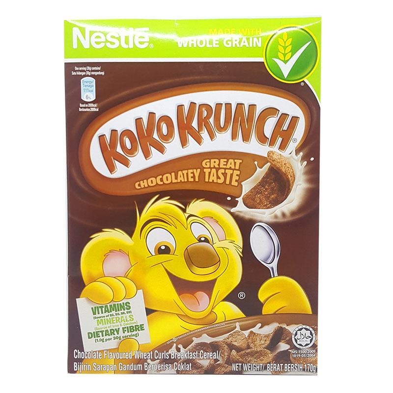 Ngũ cốc ăn sáng Koko Krunch vị sô cô la hộp 170g