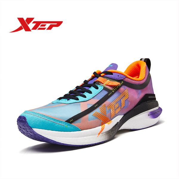 [ Tặng Áo Thun ] Xtep Race 160X Giày Chạy bộ Nam Marathon Chuyên nghiệp 980119110557