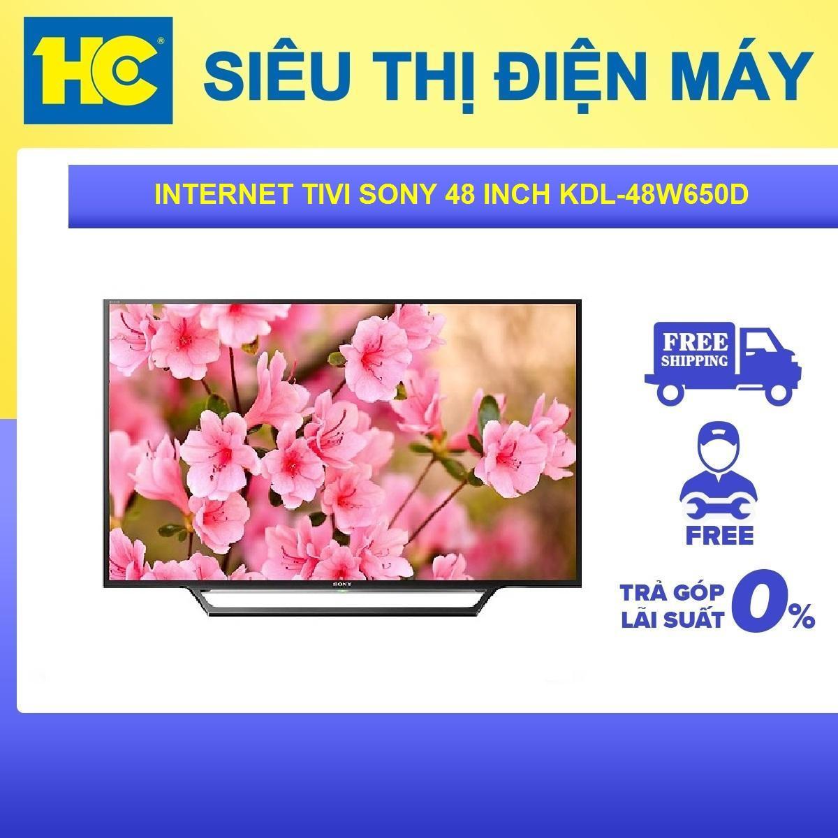 Bảng giá Internet Tivi Sony 48 inch KDL-48W650D