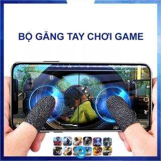 Găng tay chơi game sợi bạc cao cấp chống mồ hôi co giãn tốt tăng độ nhạy cảm ứng thumbnail