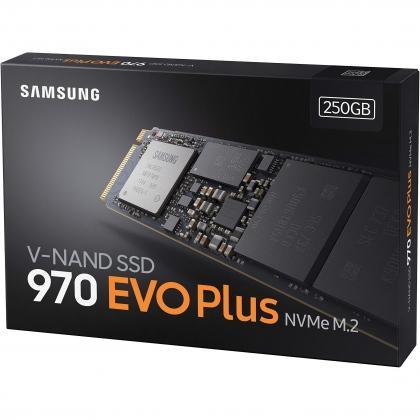 Ổ cứng SSD samsung 970 Evo plus 250GB M.2 NVMe PCIe