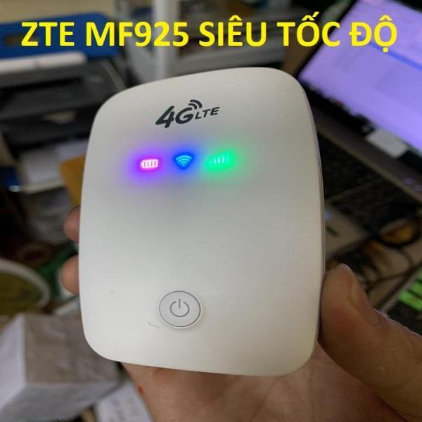 Bảng giá CHẮC NHIỀU NGƯỜI CẦN MUA mang theo du lịch trong nước và quốc tế- Củ phát wifi di động 4G LTE ZTE MF925 công suất lớn LEVER ONE- Chất lượng 5 sao Phong Vũ
