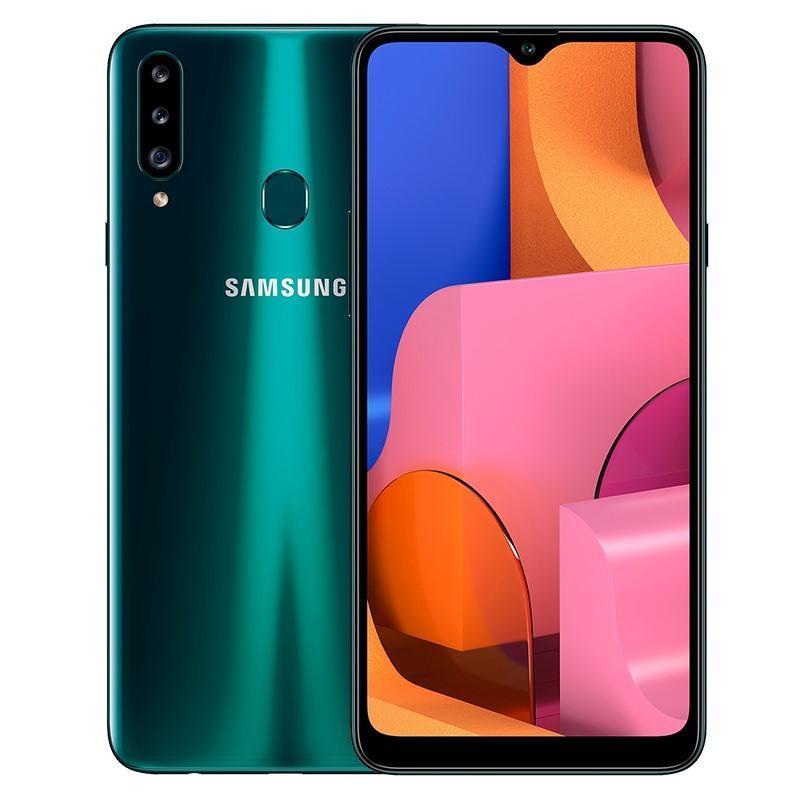 Điện thoại Samsung Galaxy A20s 3GB/32GB MỚI 100%, Màn hình tràn viền 6.5 inchs, Camera trước 8.0 MP, Camera sau Chính 13 MP & Phụ 8 MP, 5 MP, Sở hữu chip Qualcomm Snapdragon 450 8 nhân, Pin 4000mAh