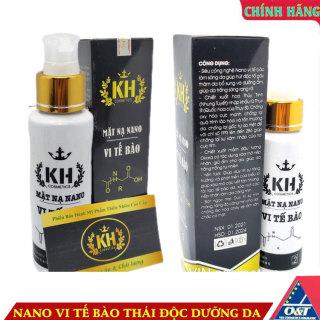 Mặt nạ nano vi tế bào dưỡng trắng da thải độc Kim Hoàng Hàn Quốc thumbnail
