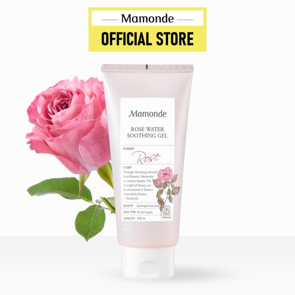 Gel dưỡng ẩm đa năng cho da và tóc Mamonde Rose Water Soothing Gel 300ml