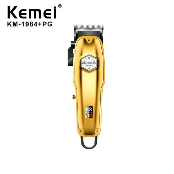 Tông đơ cắt tóc chuyên nghiệp công suất 5w kemei KM1984+PG cao cấp