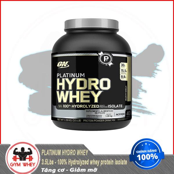 [Lấy mã giảm thêm 30%]Thực Phẩm Bổ Sung ON Platinum Hydrowhey 3.5lb giá rẻ