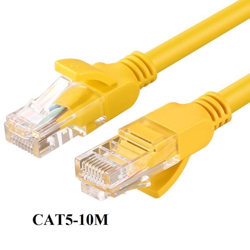 Bảng giá Dây cáp mạng Internet bấm sẵn dài 10m chuẩn cat 5e Phong Vũ