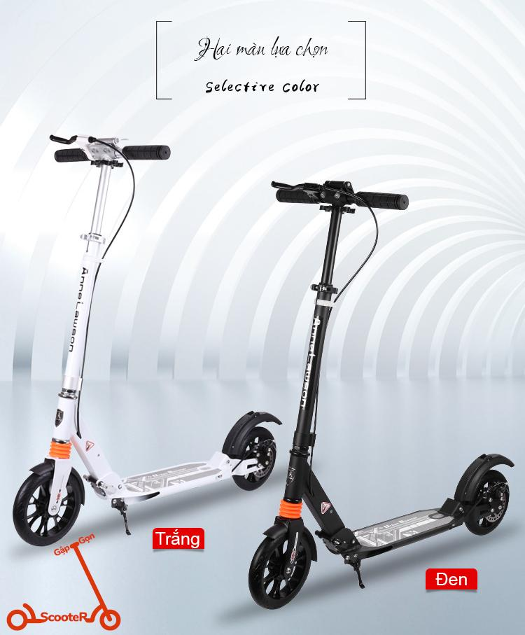 Giá bán Xe Trượt Scooter Thể Thao Người Lớn Adult Scooter Anne Lawson A5-DW  Disc Brake Style