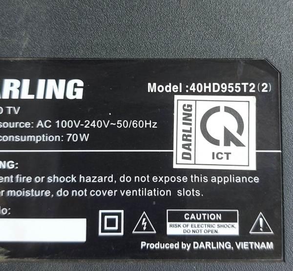 Bảng giá Bo mạch tivi DARLING 40HD955T2(2)