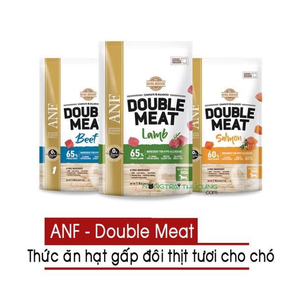 [Sản phẩm mới] Hạt cho chó ANF Double Meat - Gấp đôi thịt 1.4kg - Nhiều vị - [Nông Trại Thú Cưng]