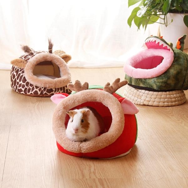 ZEEBR Chinchilla Chồn hương Chuột lang Chuột Hà Lan Giường động vật nhỏ Thỏ Nguồn cung cấp cho Hamster Ngôi nhà cho thú cưng