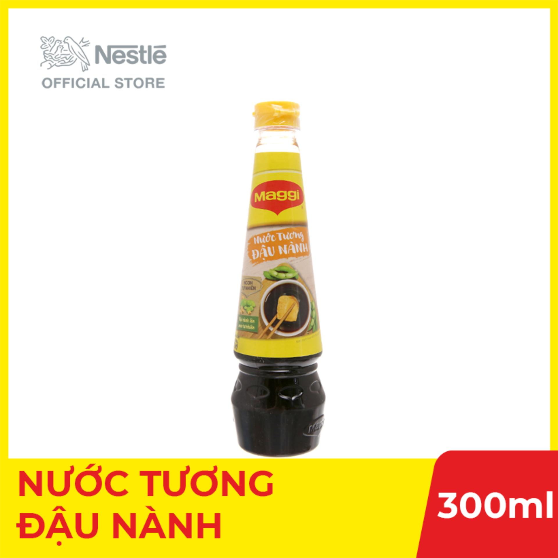 Nước tương đậu nành MAGGI - Chai 300ml