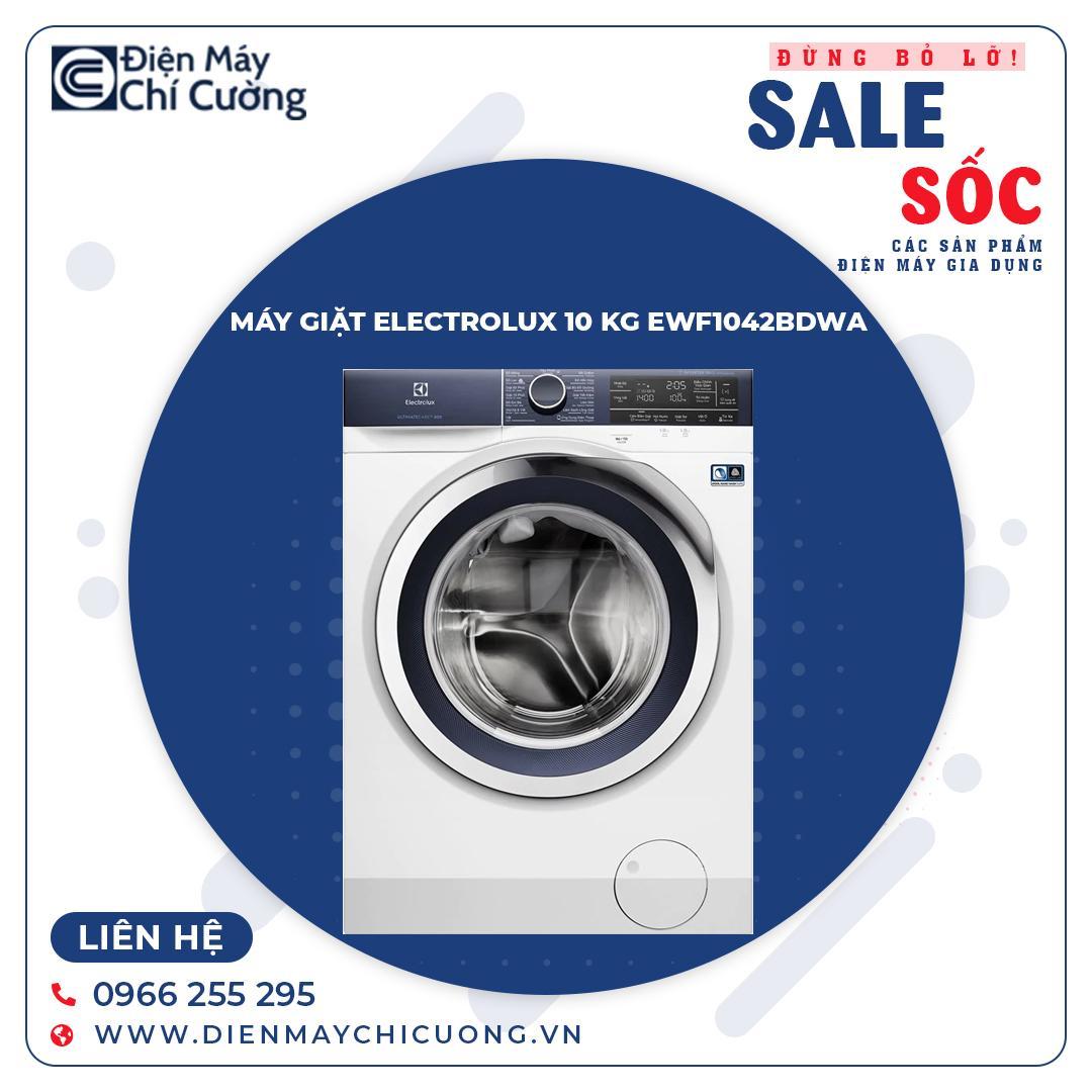 Máy Giặt ELECTROLUX 10.0 Kg EWF1042BDWA