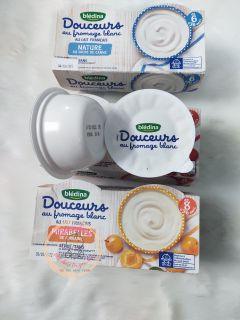 Sữa chua phô mai Bledina 4 hộp 100g thumbnail