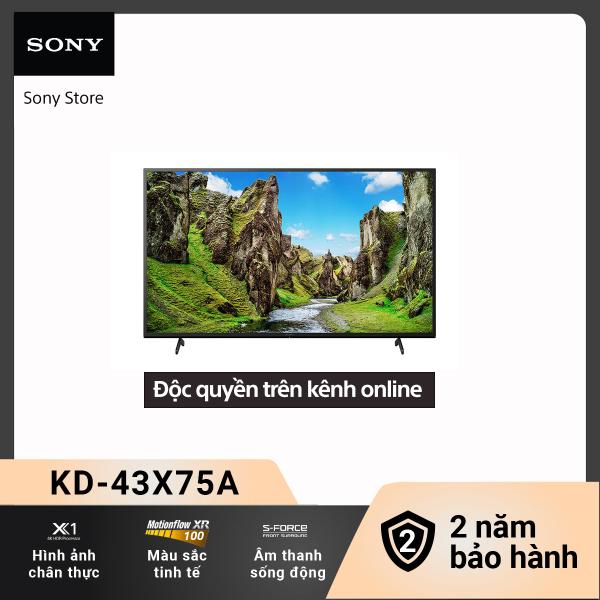 Bảng giá [Voucher 300k Follower]Smart Tivi (TV Android) Sony 4K 43 inch KD-43X75A