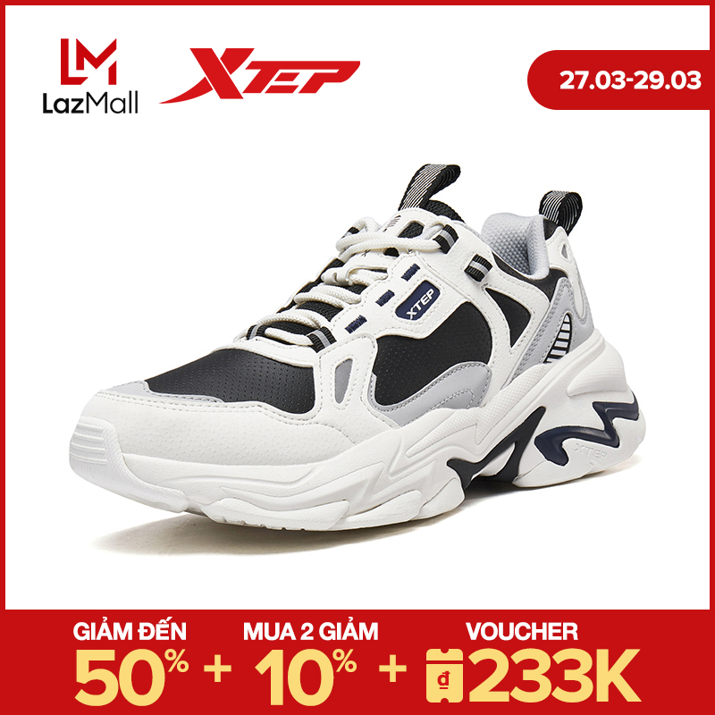 Xtep Giày Thể Thao Nam Sneakers Retro Thời Trang 980319320601
