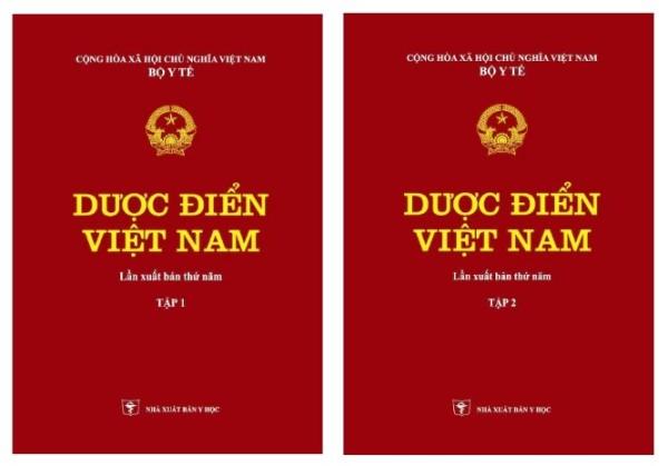 Mua Dược điển Việt Nam (Tập 1 + Tập 2)