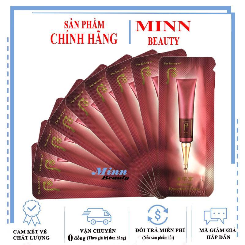 Combo 10 Gói Sampe Tinh Chất Chống Nếp Nhăn Khóe Mắt Khóe Miệng Whoo Intensive Wrinkle Concentrate 1ml X 10 Giá Tốt Duy Nhất tại Lazada