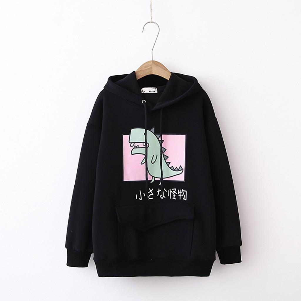 Áo hoodie nữ hình Khủng Long siêu dễ thương - PP06