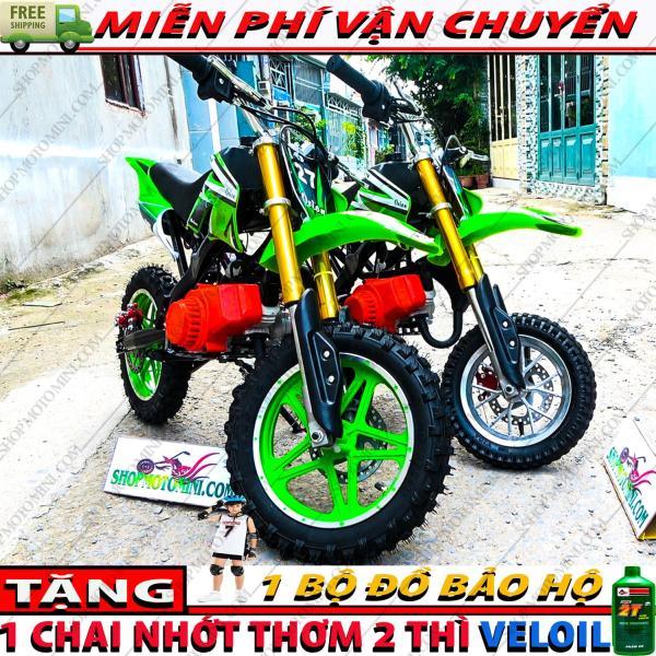 Phân phối Xe cào cào mini 50cc gắn máy cắt cỏ | Xe moto 2 thì chạy bằng động cơ xăng pha nhớt 2 thì