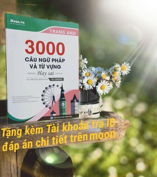 Mua Sách - 3000 Câu Ngữ Pháp Và Từ Vựng Hay Sai - Cô Trang Anh