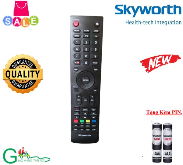 Bảng giá Remote điều khiển tivi Skyworth-Hàng mới 100%-Chất lượng tốt-Tặng kèm PIN