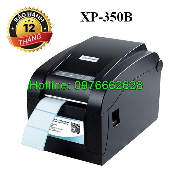 Bảng giá Máy In Tem Mã Vạch, In Đơn Hàng Shopee Xprinter Xp-350B - Khuyến Mại Cực Lớn, Hàng Chính Hãng Phong Vũ