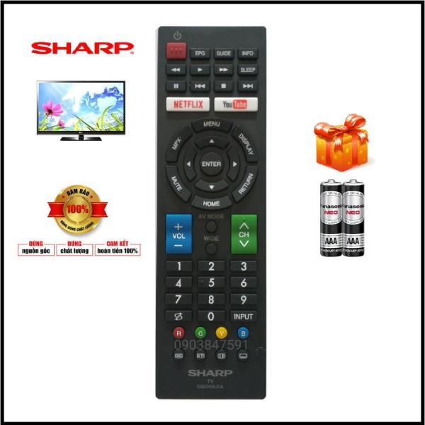 Bảng giá Điều Khiển Ti Vi SHARP dòng SmartTV ( GB234WJSA )