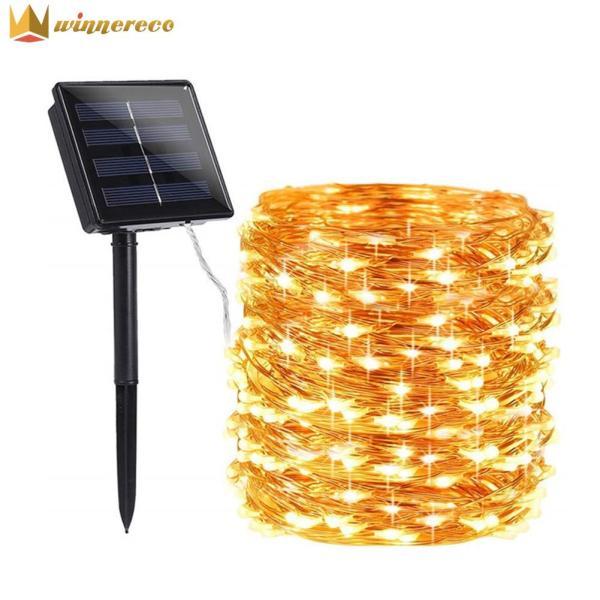 Bảng giá Đèn Trang Trí Vườn Ngoài Trời, Đèn LED Dây Đồng Năng Lượng Mặt Trời 100/200