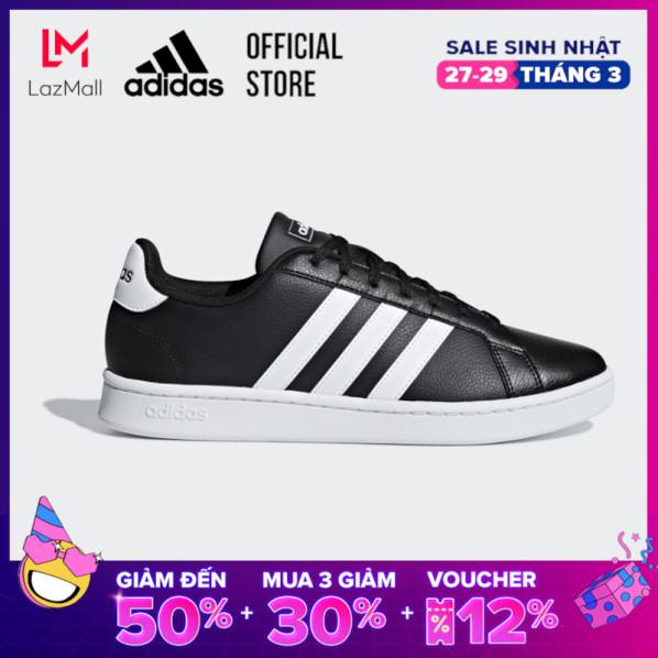 adidas TENNIS Giày Grand Court Nam Màu đen F36393 giá rẻ