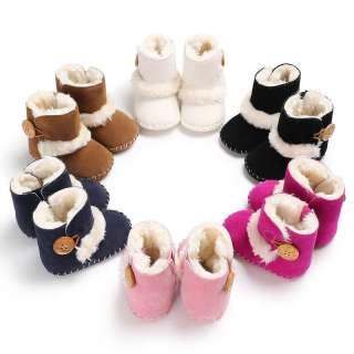 Giày đế mềm cho trẻ sơ sinh từ 0-18 tháng giúp giữ ấm đôi chân bé - INTL
