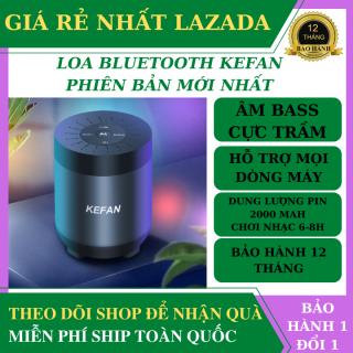 Loa Bluetooth Kefan Bản Nâng Cấp Mới Âm Bass Siêu Trầm, Pin Trâu 2000mah, Hỗ Trợ Mọi Dòng Máy, Nghe Cuộc Gọi, Tích Hợp Khe Cắm Thẻ Nhớ - Loa Bluetooth Không Dây Pin Trâu, Loa Vi Tính thumbnail