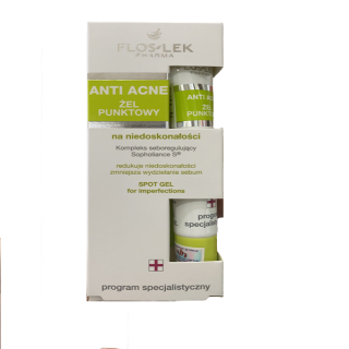 Floslek Gel kháng khuẩn cho da mụn Anti Acne Bacterial Intense Gel 20ml thumbnail
