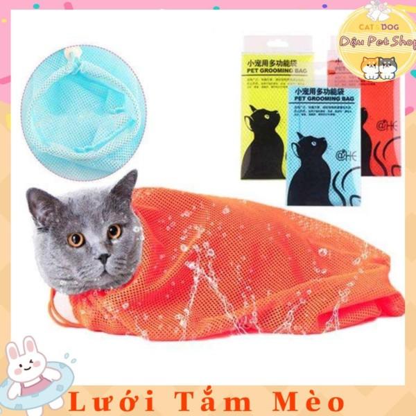 Túi lưới đa năng tắm mèo hổ trợ cắt móng cho mèo, đa dạng mẫu mã, chất lượng sản phẩm đảm bảo và cam kết hàng đúng như mô tả