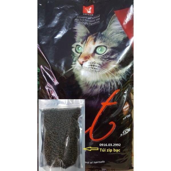 Thức Ăn Cho Mèo Cateye [1Kg Zip Bạc]