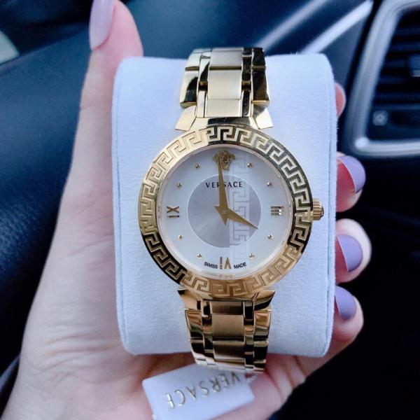 Nơi bán Đồng hồ nữ dây kim loại thời trang VERSACEO VS01 - Size 34mm - FULLBOX,Đồng hồ nữ cao cấp chống nước - Shop Kiwi Xanh