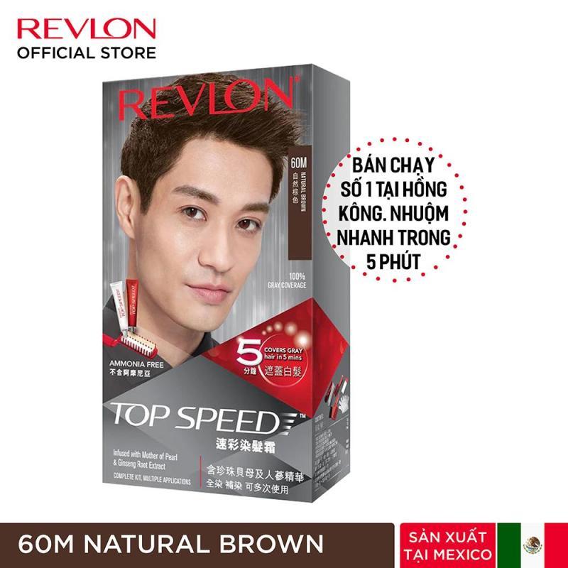 Nhuộm tóc phủ bạc Revlon TopSpeed dành cho nam cao cấp