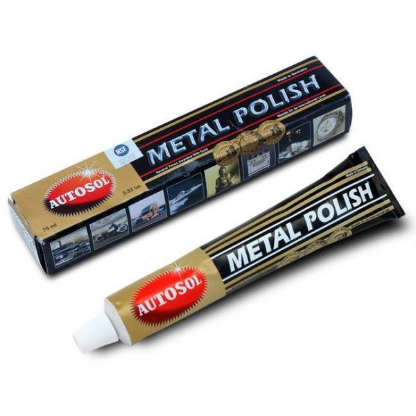 Kem đánh bóng kim loại đa dụng inox, đồng, .... Autosol Metal Polish 75ml - KEM DANH BONG  -  Autosol Metal Polish kem đánh bóng kim loại -DỤNG CỤ ĐÁNH BÓNG