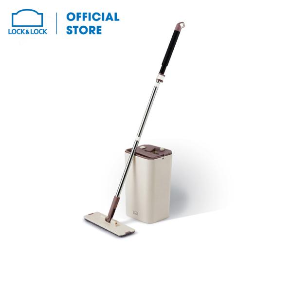 Bộ cây lau nhà Squeeze Flat Mop Lock&Lock ETM471 chất liệu cao cấp, trọng lượng nhẹ, thiết kế chắc chắn, làm sạch bề mặt sàn, cho sàn nhà sáng bóng. Hàng chính hãng