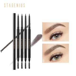 STAGENIUS waterproof Superfine Professional Round Head Eyebrow Pencil Easy Shape Tint Eye Brow Tattoo Pencil thumbnail