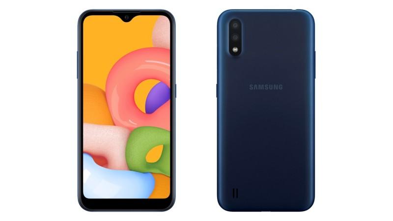 SAMSUNG GALAXY A01 2020 Chuẩn hãng - Nổi bật với Camera kép, Màn hình Infinity-V tràn cạnh, Android 10, chip Snapdragon, giá dưới 3 triệ