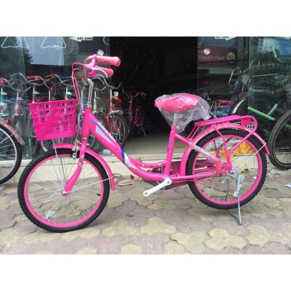 Mua Xe đạp nữ 20inch hàng công ty ( Tặng kèm đệm sau)