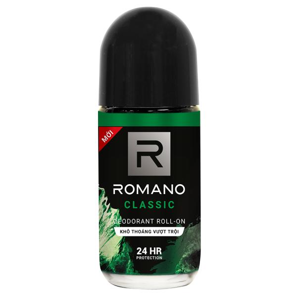 Lăn khử mùi Romano Classic chai 50ml giá rẻ