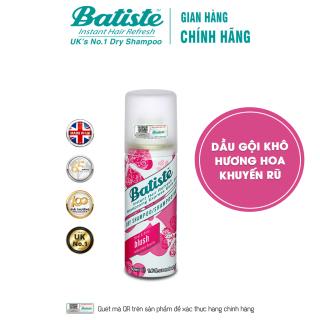 Dầu Gội Khô Batiste Hương Hoa Quyến Rũ - Batiste Dry Shampoo Floral & Flirty Blush 50ml thumbnail