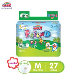 Tã quần Goo.N Friend gói đại size M 27 miếng dành cho bé từ 5 -12 kg thumbnail