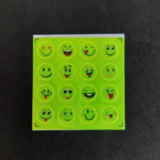 Tấm Sticker dán phản quang 16 hình mặt cười thumbnail