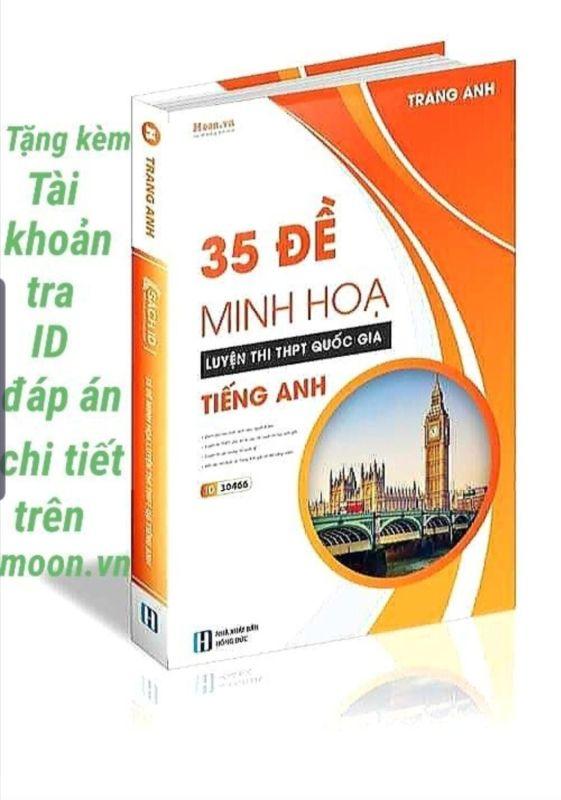 Mua Sách - 35 Đề Minh Họa Tiếng Anh - Cô Trang Anh